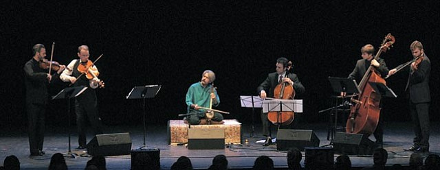 """This concert by the New York-based string ensemble included the second performance of a new commissioned work called """"Atashgah."""""""