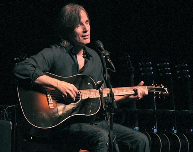 Jackson Browne returned to the Arlington Friday for a hit-filled, politically charged set of tunes as part of his 2011Solo Acoustic Tour.