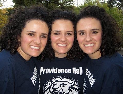 The Bishop triplets.