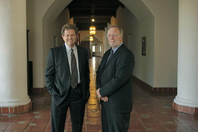 Ron Zonen (left) and Jim Kreyger