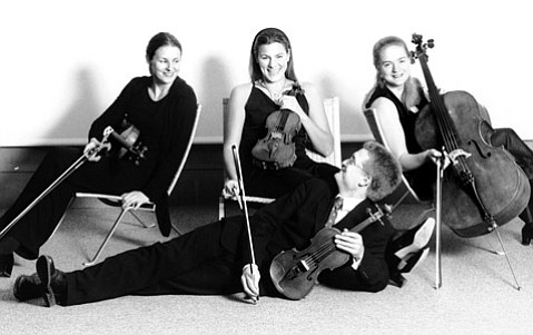 World-renowned instrumentalists the Tetzlaff Quartet will perform in downtown S.B. this week.