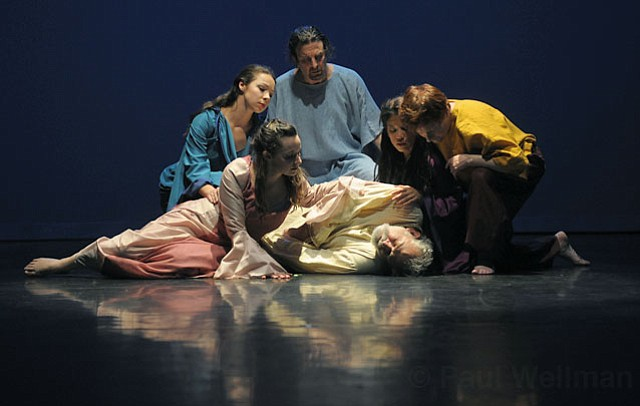 Motion Theatre preforms King Lear at Center Stage Theatre