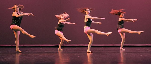 "Dancers of all genres performed in ""The Time of Our Life,"" which opened the program for BASSH 2011."