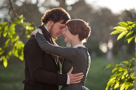 Michael Fassbender and Mia Wasikowska star in <em>Jane Eyre</em>.