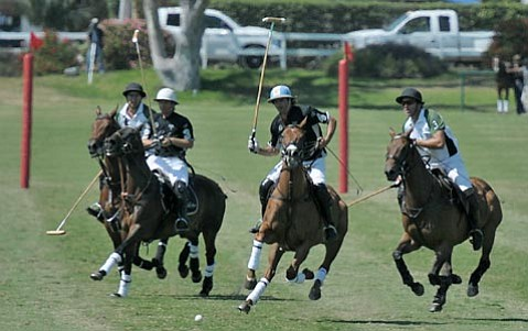On Sunday, May 8, the Santa Barbara Polo & Racquet Club will be alive with the sound of thundering hooves and the sight of flying turf.