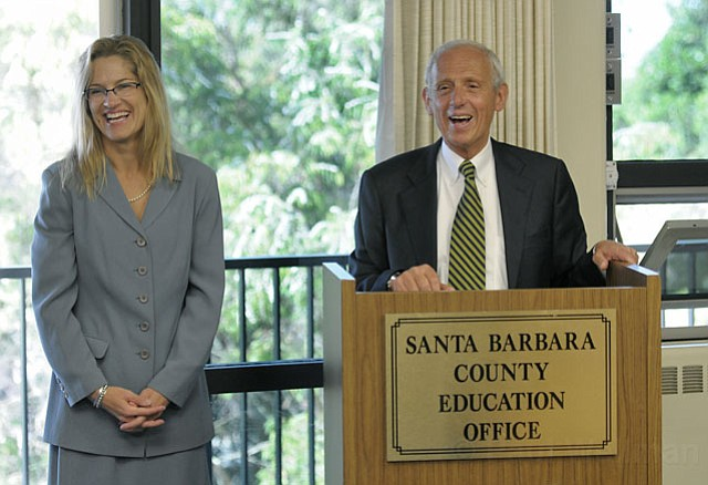 Desa Mandarino and Bill Cirone
