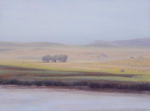 "Pamela Kendall Schiffer's ""Summer Light in Wyoming."""