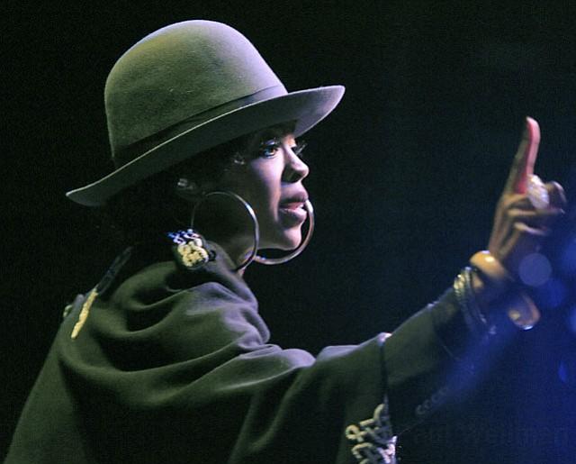 Lauryn Hill at the Santa Barbara Bowl