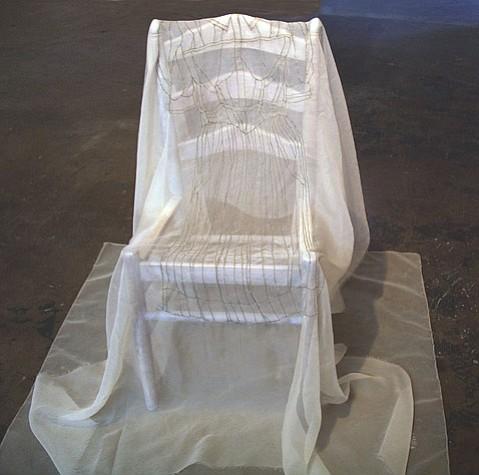 """Her Dress,"" by Linda Ekstrom."
