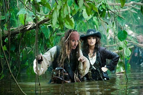 <strong>AVAST!</strong>  Johnny Depp and Penélope Cruz maraud through the mire that is <em>Pirates of the Caribbean: On Stranger Tides</em>.