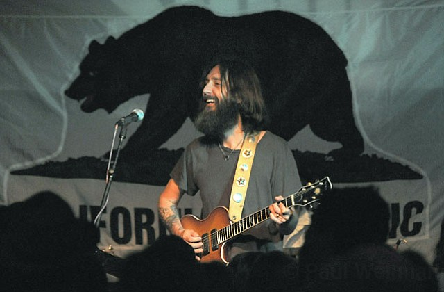 Chris Robinson belted through two sets worth of originals and covers alongside his Chris Robinson Brotherhood band last Tuesday night at SOhO.