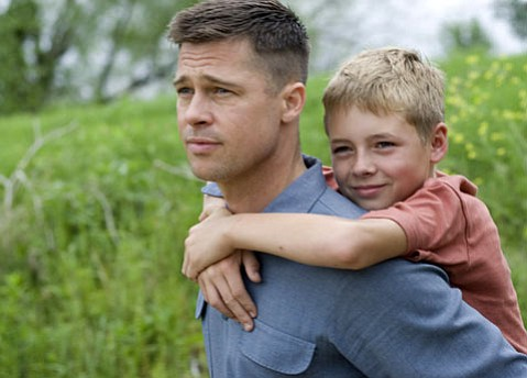 OPUS 5:  Brad Pitt plays the tough-loving head of a small-town '50s household in Terrence Malick's fifth feature film, the existential and artistically adventurous <em>The Tree of Life</em>.