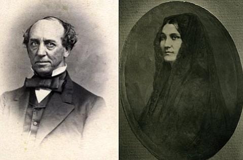 Alfred Robinson and Ana María de la Guerra.