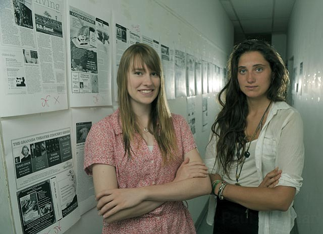 Rebecca Robbins and Rebecca Bachman