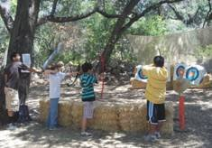 Circle V Ranch Camp Archery Range