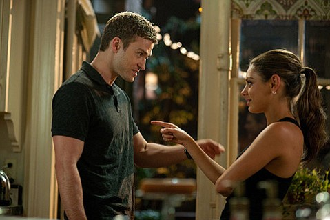 <strong>GUILTY PLEASURE:</strong>  Justin Timberlake and Mila Kunis play two friends trying to keep things casual while reaping the rewards of carnal courtship in the fun and fluffy <em>Friends with Benefits</em>.