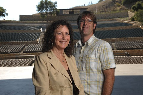 Sandy Stahl and Eric Shiflett