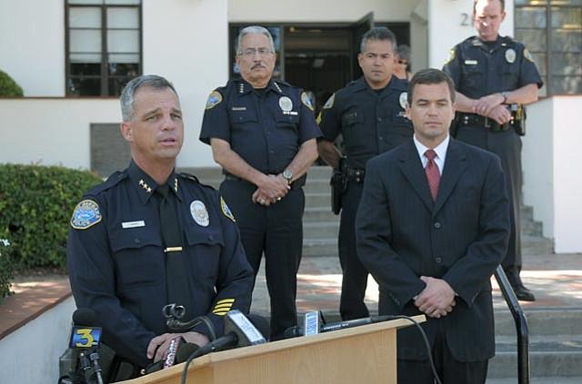 Deputy Police Chief Frank Mannix discusses the arrest of Karen Flores