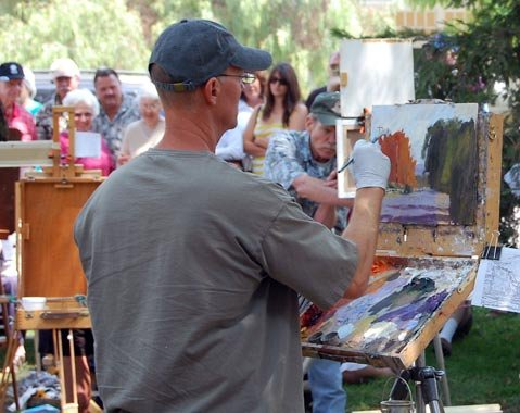 25th Annual Quick Draw Art Festival brings fun and friendly competition to Los Olivos this weekend.