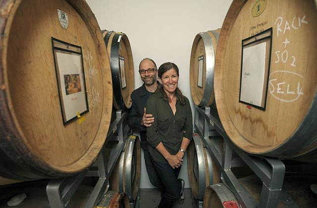 Matthias Pippig and his wife, Jamie Kinser, are opening their Sanguis Wines tasting room on Santa Barbara's Eastside.