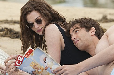 <strong>DAYS OF OUR LIVES:</strong>  Anne Hathaway and Jim Sturgess star as old flames whose lives are tracked for two decades on the same day each year in the so-so rom-com <em>One Day</em>.