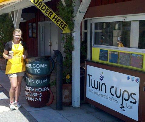 Kristyne at Twin Cups