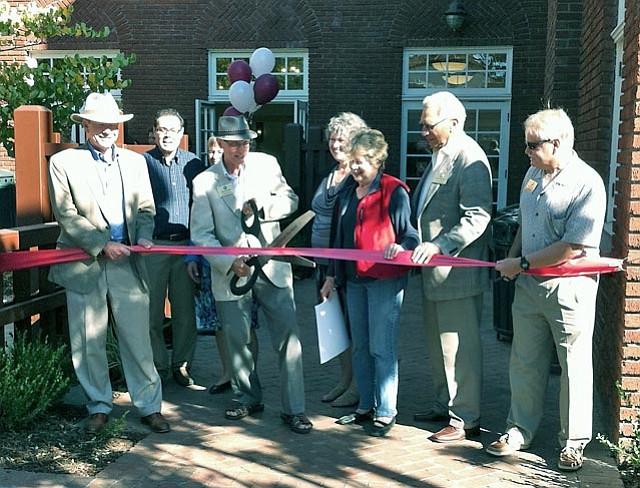 Santa Barbara City councilmembers ceremoniously reopen the Carrillo Center