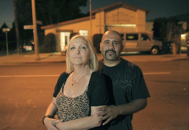 <strong>COMMITTED COUPLE:</strong> Jean and Joe Pommier stand outside the building that has housed Primo Boxing for the last 18 years. They're currently looking for a new facility to run the lauded youth boxing program.