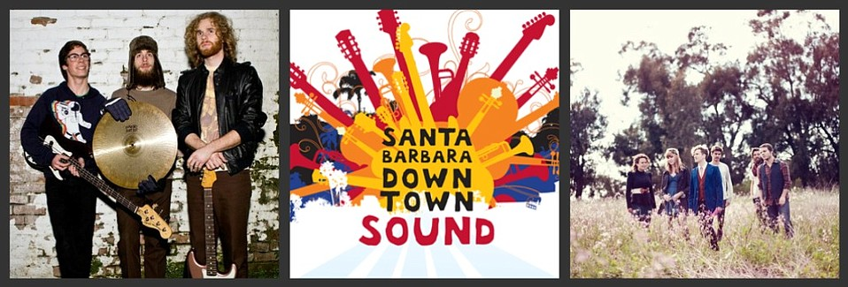 Saint Anne's Place (left) and Little Owl (right) will play Downtown Sound's finals on Thursday, October 20 at SOhO.