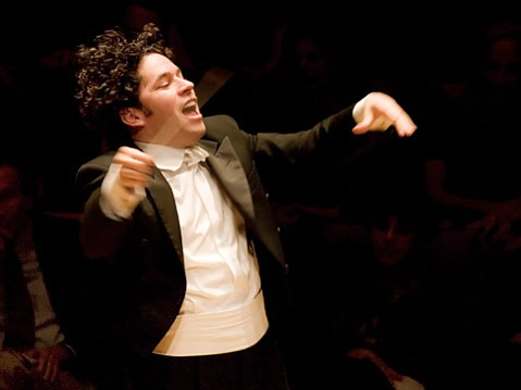 Gustavo Dudamel led the Los Angeles Philharmonic in works by Ravel, Vivier, and Tchaikovsky on Sunday at the Granada.