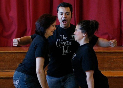 Opera Santa Barbara's Opera Lab charms as it teaches.