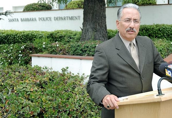 Santa Barbara Police Chief Cam Sanchez