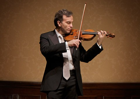 Gil Shaham returns to town for a solo recital on Saturday, November 5.