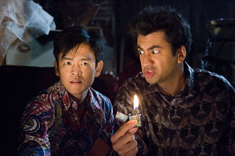Kal Penn (right) and John Cho reprise their roles in this satire-filled piece of counter-culture entertainment.