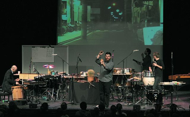 Sō Percussion at Campbell Hall