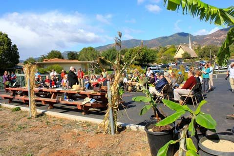 Trinity Community Gardens Groundbreaking Ceremony in Santa Barbara