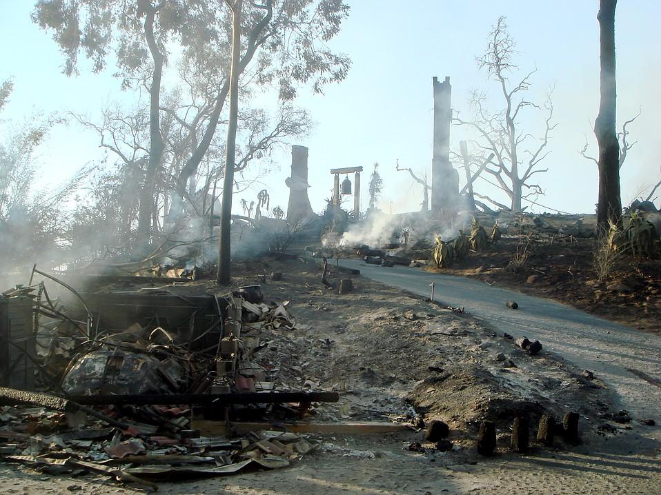 Tea Fire aftermath