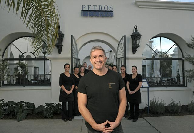 State Street's newest foodie face is Petros Benekos, whose eponymous restaurant opens this month.