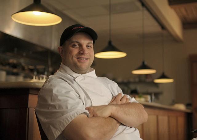 Wine Bistro's Chef Nathan Heil