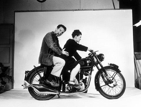 Charles and Ray Eames, the subjects of Jason Cohn and Bill Jersey's documentary <em>Eames: The Architect & the Painter</em>.