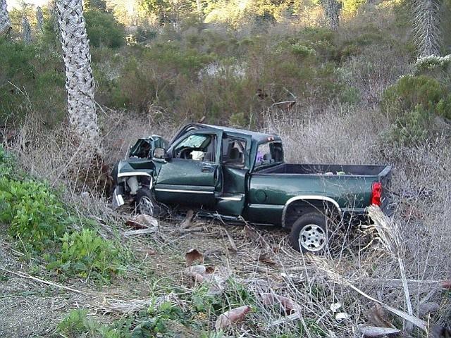 Las Positas fatal accident scene