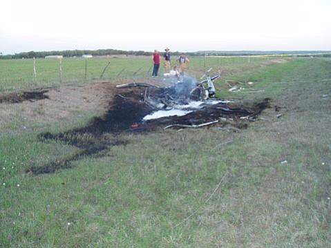 Fatal 2006 crash of Robinson R44 model in Texas.