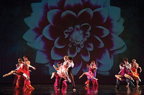 State Street Ballet's dancers paired off for the finale of Josie Walsh's <em>The Secret Garden</em>.