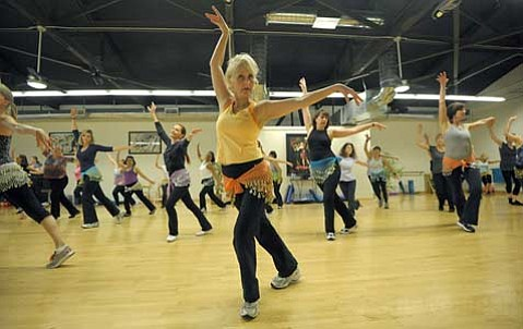 Over the past two years, Janet Reineck's World Dance Workout has developed a loyal following.