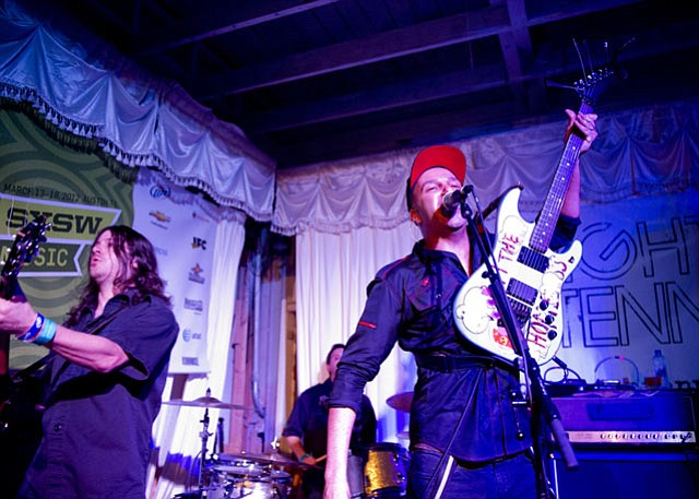 Rage Against the Machine alum Tom Morello teamed up with new band The Nightwatchman for a politically charged showcase at the Swan Dive on Friday, March 16.