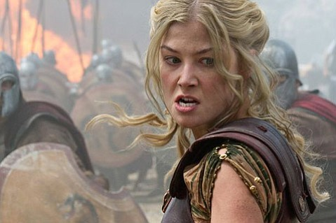 <em>Wrath of the Titans</em> features a pantheon of British actors, including Rosamund Pike as Andromeda, but is just slightly better than its Kraken-releasing predecessor.