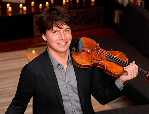 Joshua Bell is on his first tour as music director of the Academy of St. Martin in the Fields.
