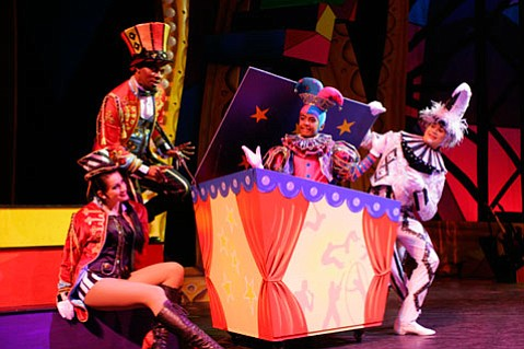 Cirque Dreams specializes in creating spectacles that are more like rock concerts than traditional theater or circus performances.