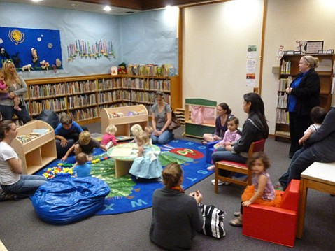 Goleta Valley Library Family Corner