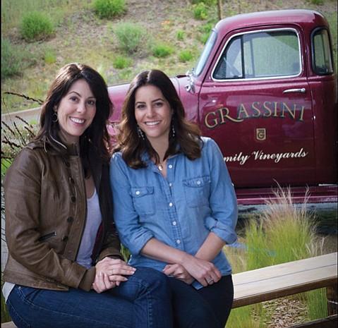Katie (left) and Mandy Grassini